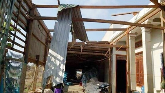 Whirlwind hits Dak Lak province, one dead