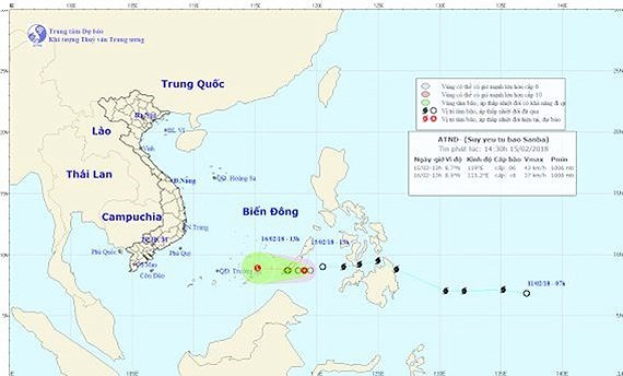 Authorities deal with tropical low-pressure in East Sea
