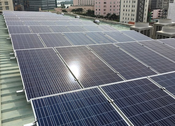 Renewable energy development rate in HCMC accounts 0.99 percent