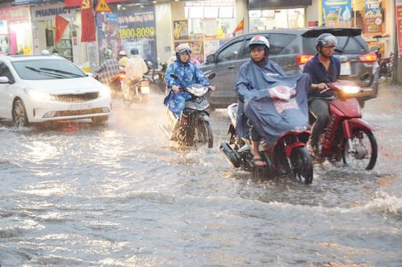 Heavy rains hit nationwide  