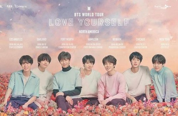 BTS to hold its first-ever stadium concert in U.S. in October