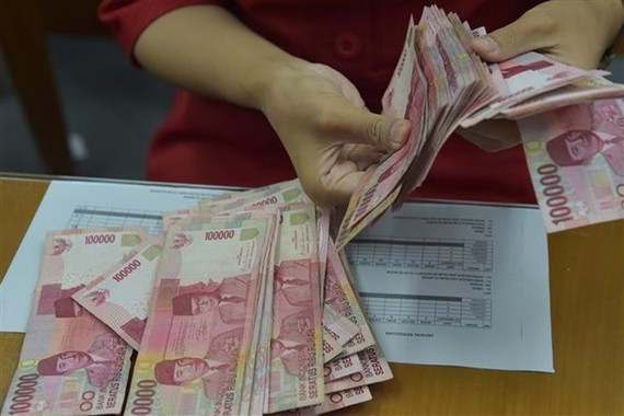 Indonesia's national currency rupiah (Photo: VNA)