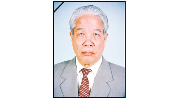 Former General Secretary of the Communist Party of Vietnam Central Committee Do Muoi (Photo: SGGP)