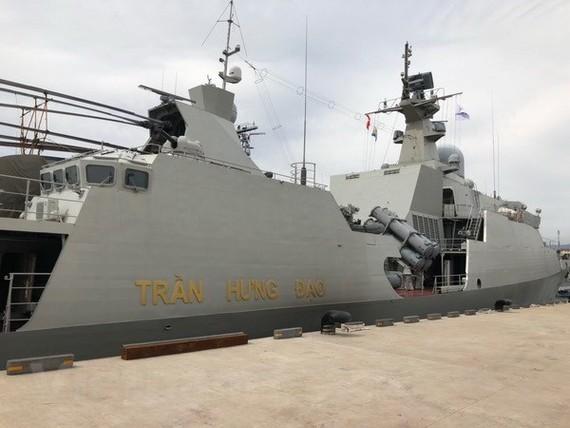 Frigate 015-Tran Hung Dao (Photo: VNA)