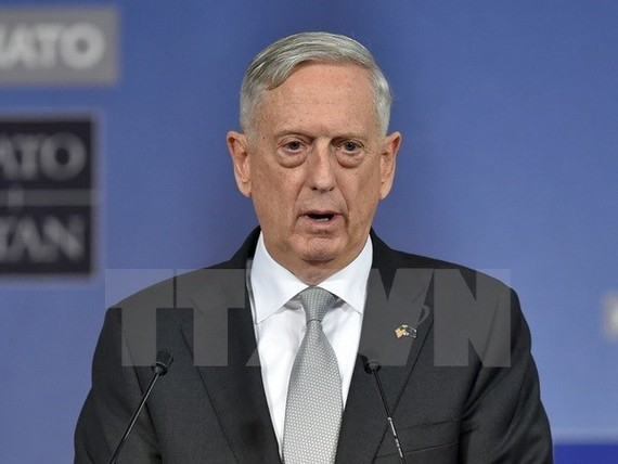 US Secretary of Defence James Mattis (Photo: AFP/VNA)
