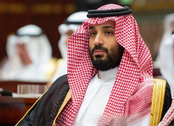 """Saudi Crown Prince Mohammed bin Salman will visit a """"number of brotherly"""" Arab states at the request of his father, King Salman. — AFP/VNA"""