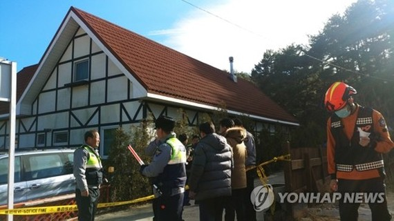 (ATTN: UPDATES with revised death toll, more info)  GANGNEUNG, South Korea, Dec. 18 (Yonhap) -- Three senior high school students were found dead and seven others unconscious at a pension in the northeastern province of Gangwon, local police and firefight