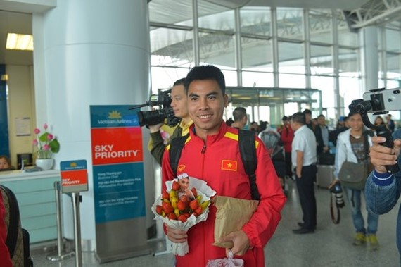 Vietnam Football Team leaves for AFC Asian Cup 2019 in Qatar
