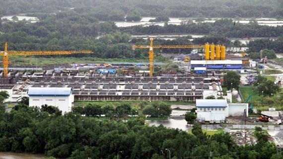 Một góc Nhà máy xử lý nước thải