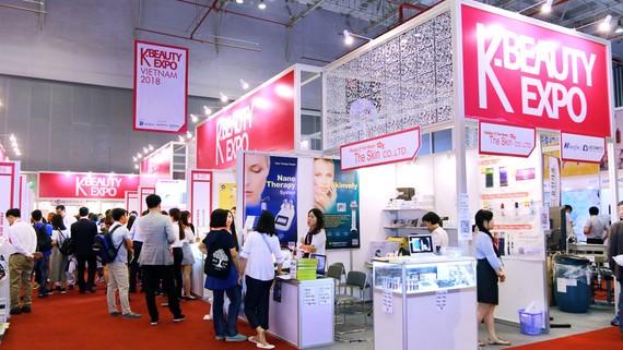Nhiều hãng mỹ phẩm Hàn Quốc đang thâm nhập thị trường Việt Nam