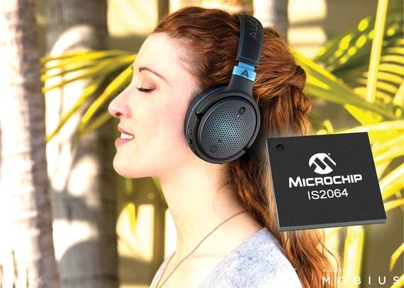 Microchip giới thiệu thiết bị âm thanh độ phân giải cao IS2064GM-0L3
