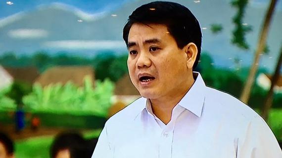 Chủ tịch UBND thành phố Hà Nội, Nguyễn Đức Chung