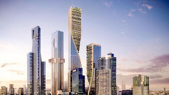 Dự án nhà chọc trời Australia đoạt giải thưởng