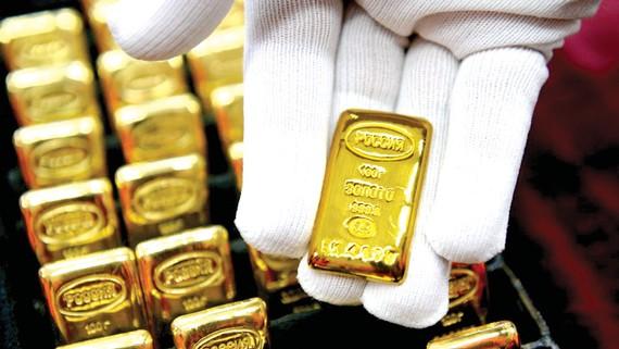 Vàng dự trữ tại Nga