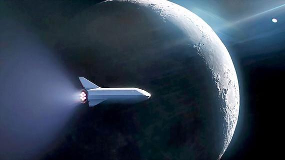 SpaceX và giấc mơ đưa du khách bay vòng quanh Mặt Trăng