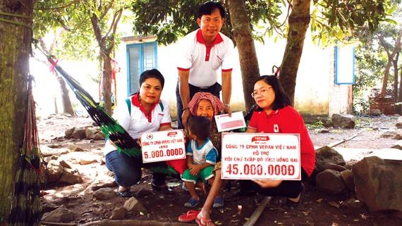 Vedan Việt Nam hỗ trợ y tế cho các bệnh nhân khó khăn tại Đồng Nai