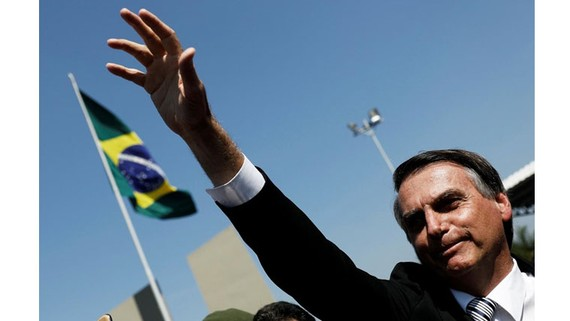 Ông Jair Bolsonaro. Ảnh: Reuters