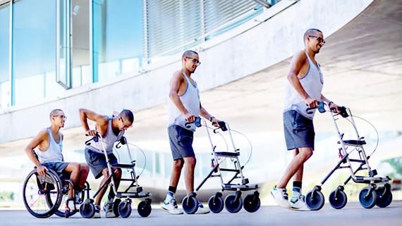 Xung điện giúp người bị liệt có thể tự đi