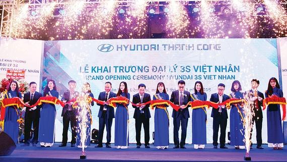 Hyundai Thành Công Thương mại liên tiếp khai trương đại lý mới