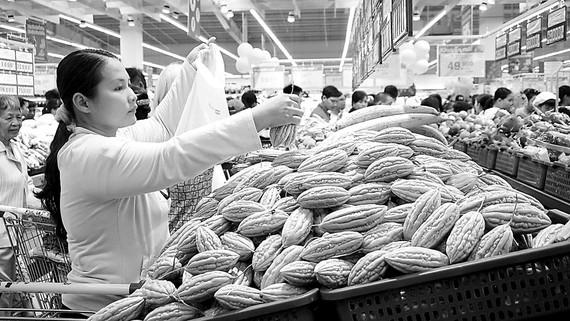 Nhờ kết nối hiệu quả, nhiều đặc sản của ĐBSCL đang được tiêu thụ rộng rãi trên hệ thống siêu thị Co.opmart