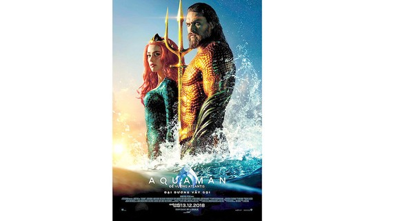 Aquaman bùng nổ doanh thu tại Trung Quốc