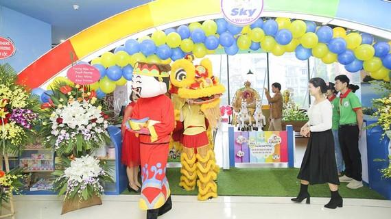 Khu vui chơi trẻ em được trang trí bắt mắt tại TTTM Sun Plaza Ancora