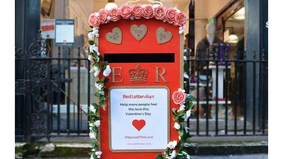 Valentine lan tỏa yêu thương