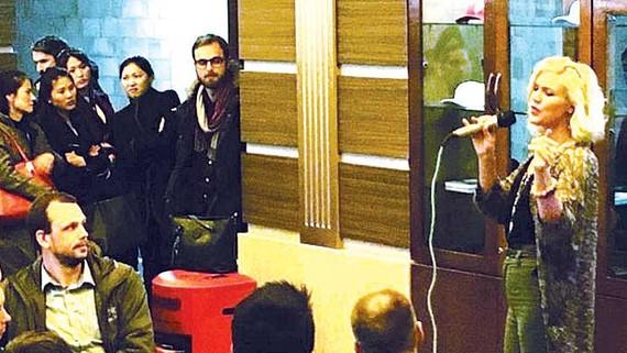 Joss Stone biểu diễn ở Triều Tiên