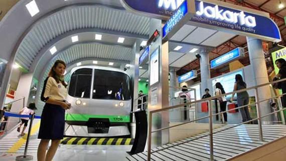 Jakarta có tuyến tàu điện ngầm đầu tiên