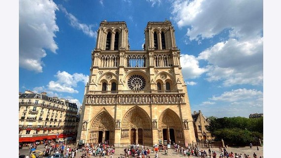 Tản mạn về nhà thờ Đức Bà Paris