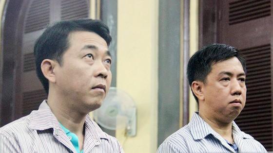 2 bị cáo Nguyễn Minh Hùng và Võ Mạnh Cường