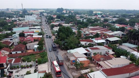 Tỉnh lộ 8, huyện Củ Chi, TPHCM. Ảnh: CAO THĂNG