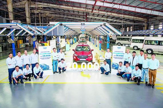 Ford Việt Nam xuất xưởng chiếc EcoSport thứ 20.000, khẳng định vị thế phân khúc SUV đô thị cỡ nhỏ