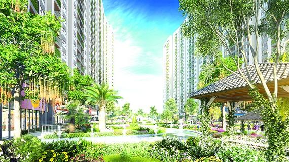 Imperia Sky Garden đang được khách hàng và giới đầu tư đặc biệt quan tâm