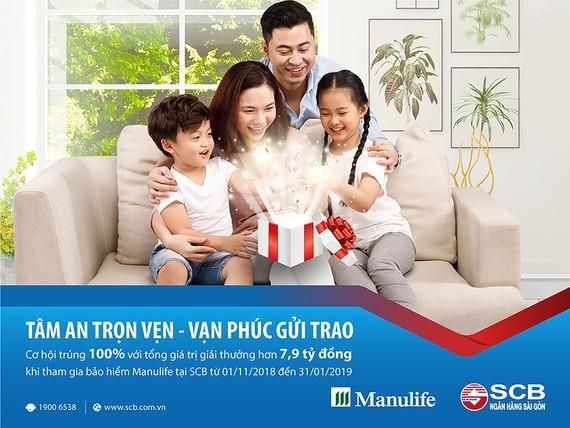 SCB gia hạn thời gian ưu đãi đối với khách hàng tham gia bảo hiểm Manulife