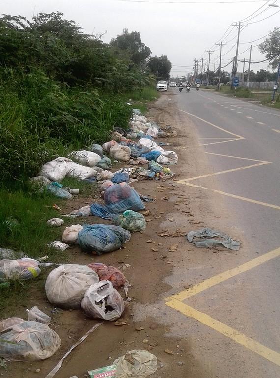Con đường đầy rác