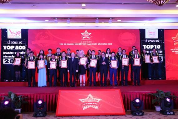 Minh Hưng Group nhận giải thưởng Top 50 doanh nghiệp VN xuất sắc nhất năm 2018