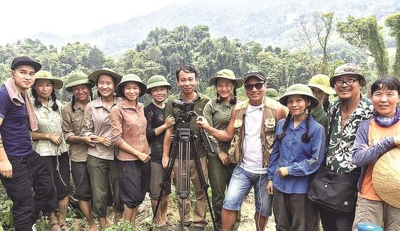 Đoàn làm phim Truyền thuyết về Quán Tiên