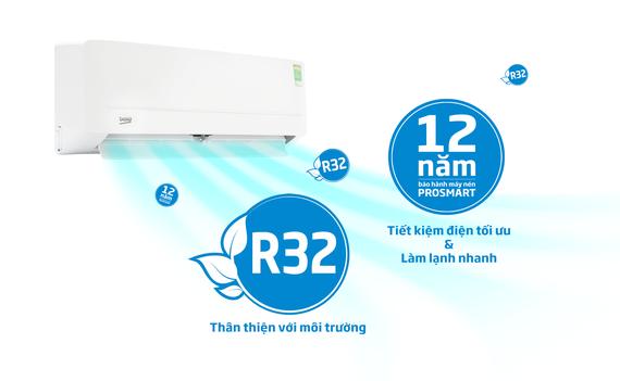 BEKO ra mắt 2 dòng máy lạnh cho cuộc sống khỏe mạnh hơn