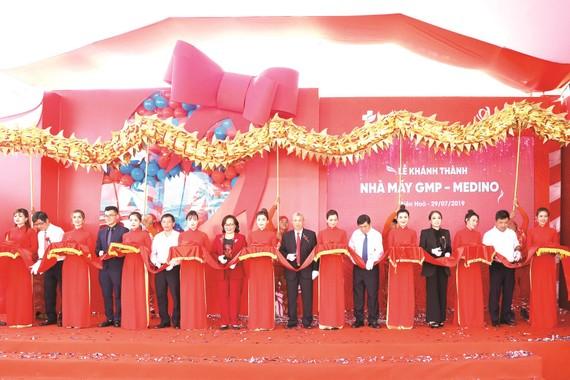 Medino khánh thành nhà máy sản xuất đạt chuẩn GMP