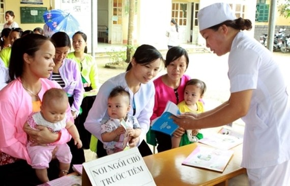 Tiêm chủng mở rộng cho trẻ em