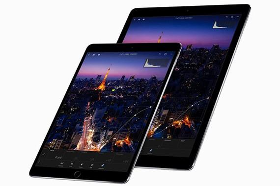 Hai thành viên iPad Pro 10,5 inch và 12,9 inch được Apple công bố tại WWDC 2017