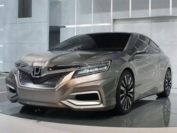 Honda Accord thế hệ mới sẽ sử dụng động cơ tăng áp 4 xi lanh