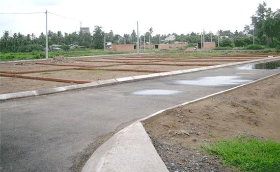 Tách thửa đất ở có hình thành đường giao thông, hạ tầng kỹ thuật