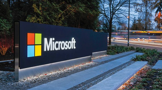 Microsoft qua mặt Alphabet