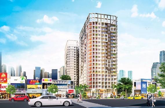 The EastGate gồm 2 block căn hộ cao 19 tầng tọa lạc ngay Làng đại học TPHCM, liền kề tuyến metro Bến Thành - Suối Tiên và bến xe miền Đông mới.