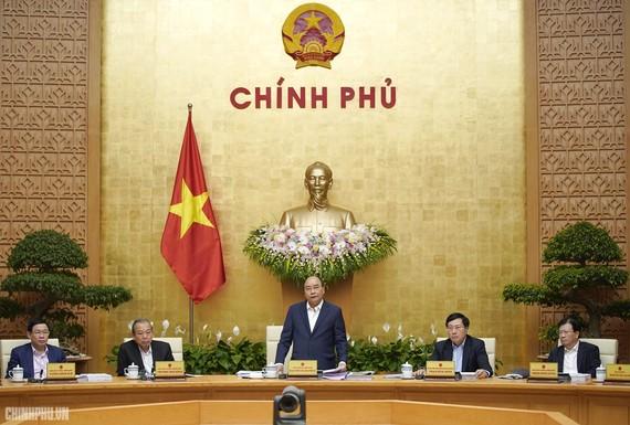 Thủ tướng Nguyễn Xuân Phúc chủ trì phiên họp Chính phủ thường kỳ tháng 2/2019.