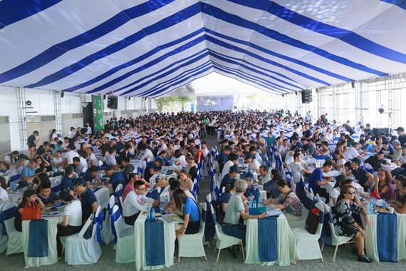 Hàng ngàn khách tham quan Novaland Expo 2019.