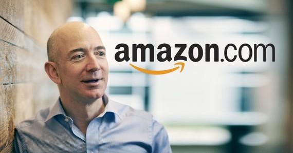 Nhà điều hành hãng bán lẻ trực tuyến Amazon của Mỹ Jeff Bezos. Ảnh: VULCAN POST