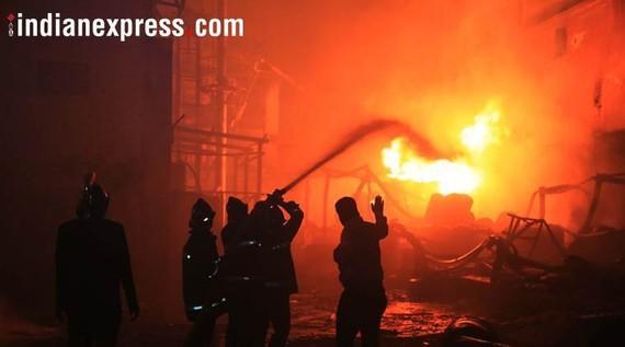 Cháy nhà máy hóa chất ở Ấn Độ, 3 người chết, 15 người bị thương